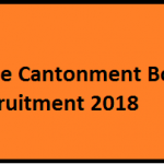 Cantonment Board Pune Recruitment 2018 Apply for 77 Assistant Medical, Junior Engineer Vacancies at www.punecantonmentboard.org