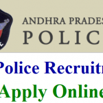 AP Police Sub-Inspector Recruitment 2018 Apply for Sub-Inspector Posts at www.appolice.gov.in
