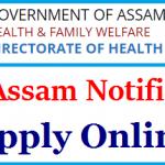 DHS Assam Junior Assistant Recruitment 2018 Apply for 423 Pharmacist, Radiographer, Laboratory Technician Posts
