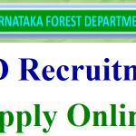 Karnataka Forest Guard Recruitment 2018 Apply Online for 569 Deputy Range Forest Officer Posts at www.aranya.gov.in