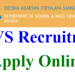OAVS TGT PET Recruitment 2018 Apply for 1544 Principal, Art, Music & Computer Teacher Jobs at www.oavs.in