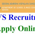 OAVS TGT PET Recruitment 2018 Apply for 1544 Principal, Art, Music & Computer Teacher Jobs at www.oavs.in