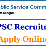WBPSC Veterinary Officer Recruitment 2018 Apply for 156 Veterinary Officer Posts at www.pscwbonline.gov.in