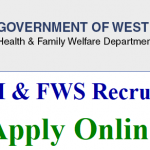 WBSHFWS Medical Officer Recruitment 2018 || Apply for 971 Pharmacist Posts at www.wbhealth.gov.in