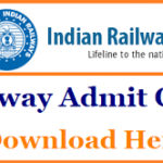 RRB Group D Exam Admit Card 2018 Download RRB Group D Hall Ticket at www.indianrailways.gov.in