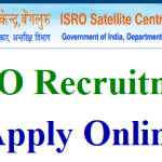 ISRO Apprentices Recruitment 2018 Apply for 205 Technician Apprentice, Graduate Apprentice Posts at www.isro.gov.in