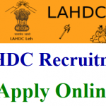 LAHDC Class IV Recruitment 2018 Apply for 147 Driver, Junior Assistant, VLW Posts at www.leh.nic.in