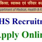 DMHS Rajasthan Recruitment 2018 Apply Online for 4514 Nurse Grade II Posts at www.rajswasthya.nic.in