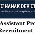 GNDU Assistant Professor Recruitment 2018 || Apply Online for 118 Assistant Professor Posts at www.gndu.ac.in
