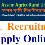 AAU Research Technician Recruitment 2018 Apply Online for 110 Assistant Project Scientist, Project Scientist Post @www.aau.ac.in