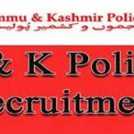 JK Police Constable Recruitment 2018 Apply for 100 Constable Post at jkpolice.gov.in