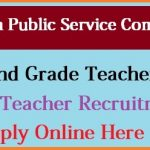 RPSC 2nd Grade Teacher Recruitment 2018 | Apply For 9000 Rajasthan Teacher TSP & Non-TSP Vacancies at rpsc.rajasthan.gov.in