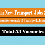 Assam Transport Junior Assistant Recruitment 2018 Apply for 53 Stenographer, Computer Assistant Jobs at comtransport.assam.gov.in