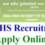 BFUHS Staff Nurse Recruitment 2018 Apply for ANM, Driver, operation Assistant Posts at www.bfuhs.ac.in