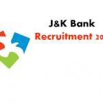 JK Bank PO Recruitment 2018 Apply Online For 250 Probationary Officer Posts at www.jkbank.com