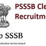 Punjab PSSSB Clerk Recruitment 2018 Apply Online for 2100 Clerk Notification @punjabsssb.gov.in