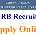 TREIRB TGT PGT Recruitment 2018 Apply for 2932 Telangana TREIRB TGT Posts at www.treirb.telangana.gov.in