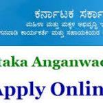 Karnataka Anganwadi Helper Recruitment 2018 Apply for Anganwadi Worker & Helper Posts at www.anganwadirecruit.kar.nic.in
