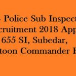 CG Police Sub-Inspector Recruitment 2018 Apply for 655 Platoon Commander, Subedar Jobs at www.cgpolice.gov.in