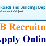 R&B Gujarat AE Recruitment 2018 Apply for 200 Assistant Engineer & Additional Assistant Engineer Posts at www.rnbgujarat.org