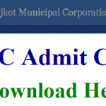 Rajkot Municipal Corporation Admit Card 2018 Download Field Worker, Superior Field Worker Hall Ticket at www.rmc.gov.in