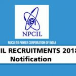 NPCIL Assistant Recruitment 2018 Apply Online for 59 Steno, Assistant & Other Vacancies at www.npcil.nic.in