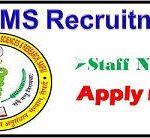 UPUMS Staff Nurse Recruitment 2018 Apply Online for Staff Nurse Posts @www.recruitment.rimsnr.ac.in