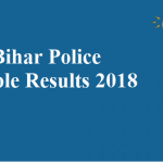 Bihar Police Constable Final Result with Unit Name 2018
