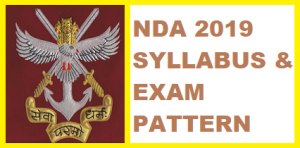 NDA and NA Exam (I) 2019