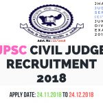 JPSC Civil Judge Online Form 2018-Apply Online