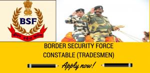 BSF Constable Recruitment 219