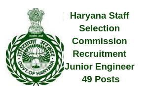 HSSC JE Recruitment 2019