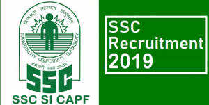 SSC SI CAPF 2019