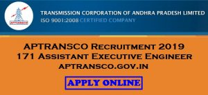 APTRANSCO Assistant Executive Engineer Recruitment 2019