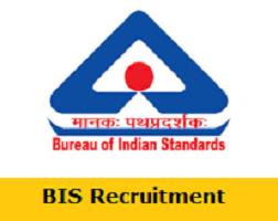 Bureau of Indian Standards Recruitment 2019