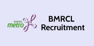 BMRCL recruitment 2019