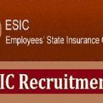 ESIC Gujarat Recruitment 2019