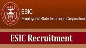 ESIC Gujarat Recruitment 2019