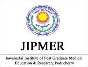 JIPMER Recruitment 2019