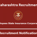ESIC Maharashtra Recruitment 2019