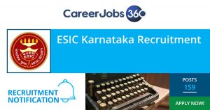 ESIC Karnataka Recruitment 2019