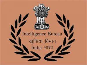 Intelligence Bureau Recruitment 2019