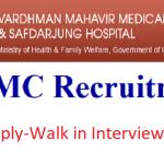 VMMC-SJH Recruitment 2019