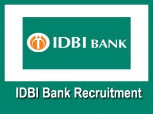 IDBI Bank Manager Recruitment 2019