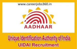 Unique Identification Authority of India Recruitment 2019