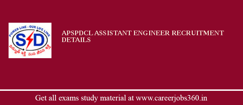 APSPDCL Assistant Engineer Recruitment 2019