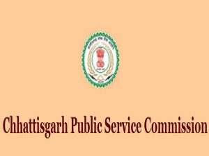 Chhattisgarh Public Service Commission Recruitment 2019