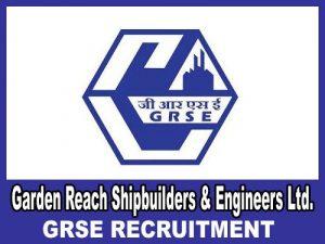 Garden Research Shipbuilders Engineers Recruitment 2019