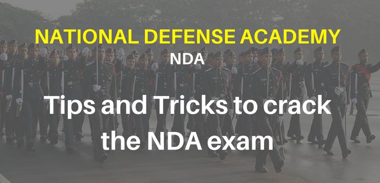 Tips to crack the NDA exam