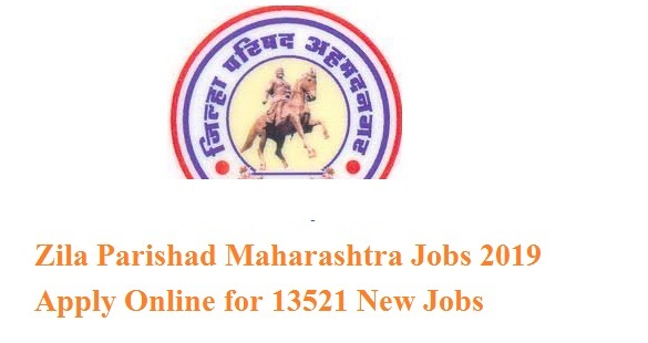 Zilla Parishad Maharastra Recruitments 2019